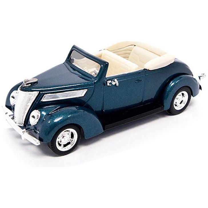 1937 Ford V8 Convertible - Blue Main Image