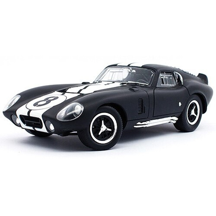 Road Signature 1965 Shelby Daytona Coupe - Matte Black 118 Scale Diecast Model by Road Signature 18866NX 888693240831