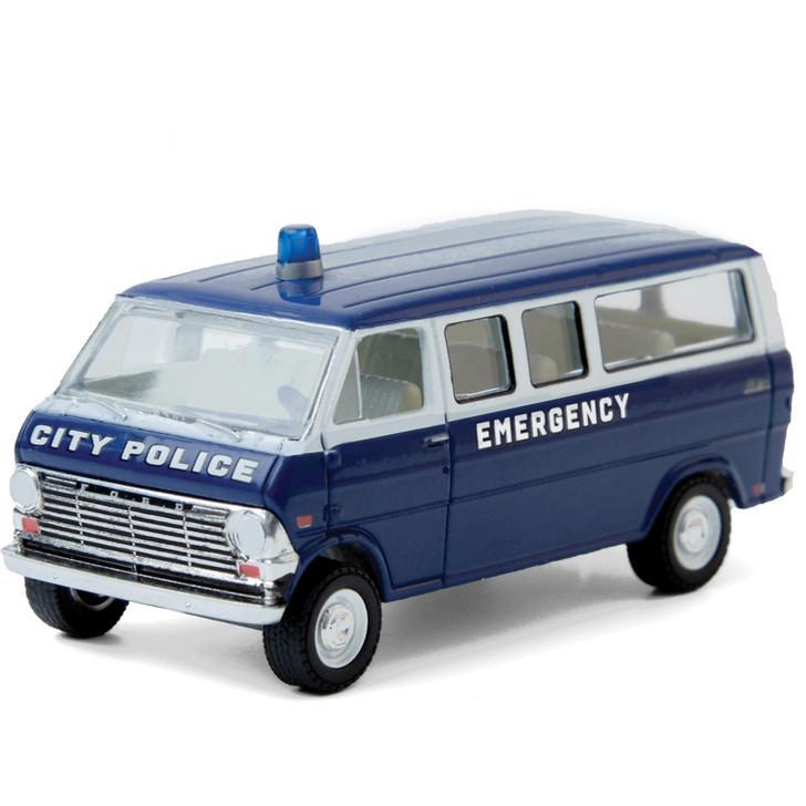 1969 Ford Club Wagon - City Police Emergency Main Image