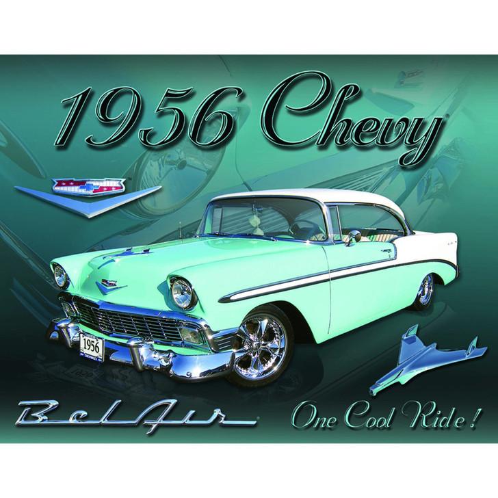 1956 Chevy Bel Air Metal Sign Main Image