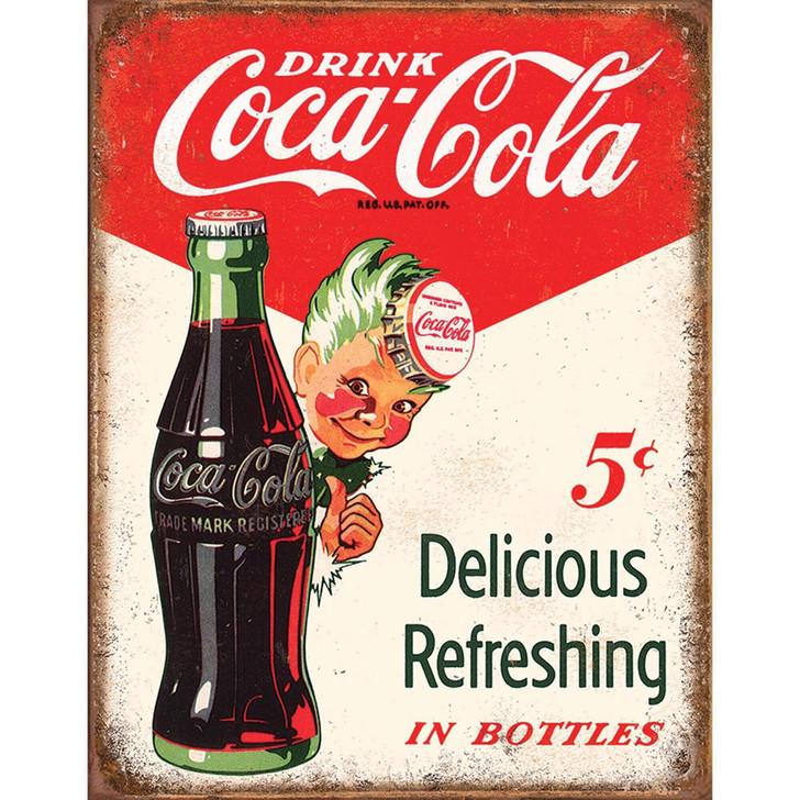 Coca-Cola Sprite Boy Metal Sign Main Image