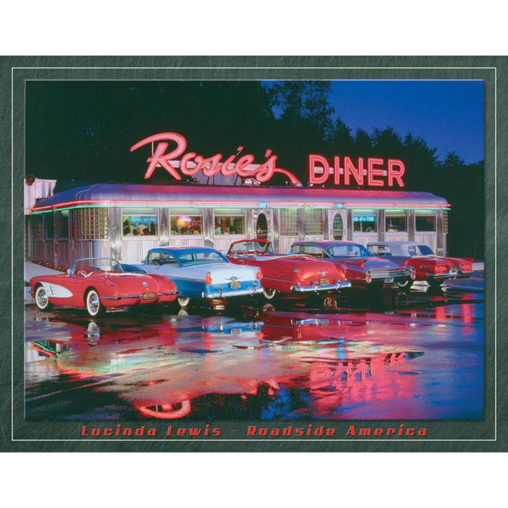 Rosie's Diner Metal Sign Main Image