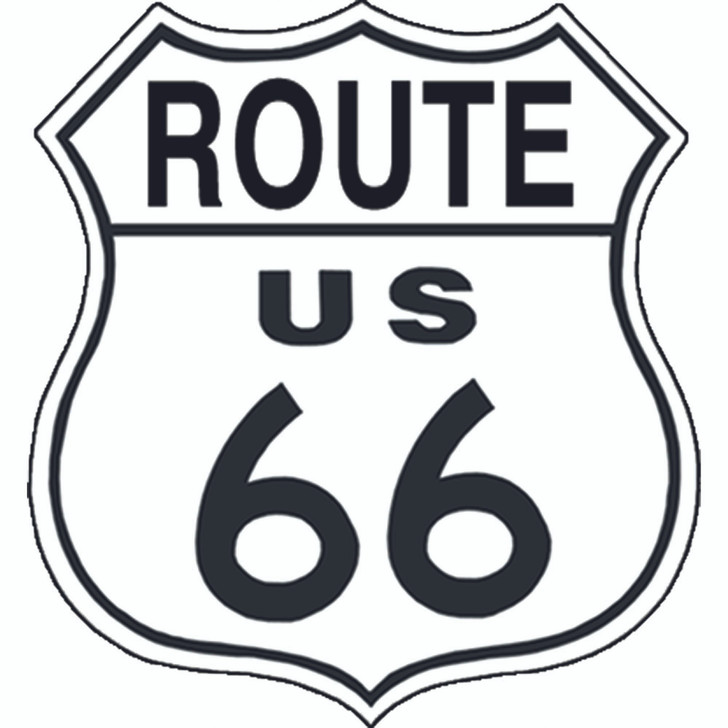 Route 66 Metal Shield Main Image