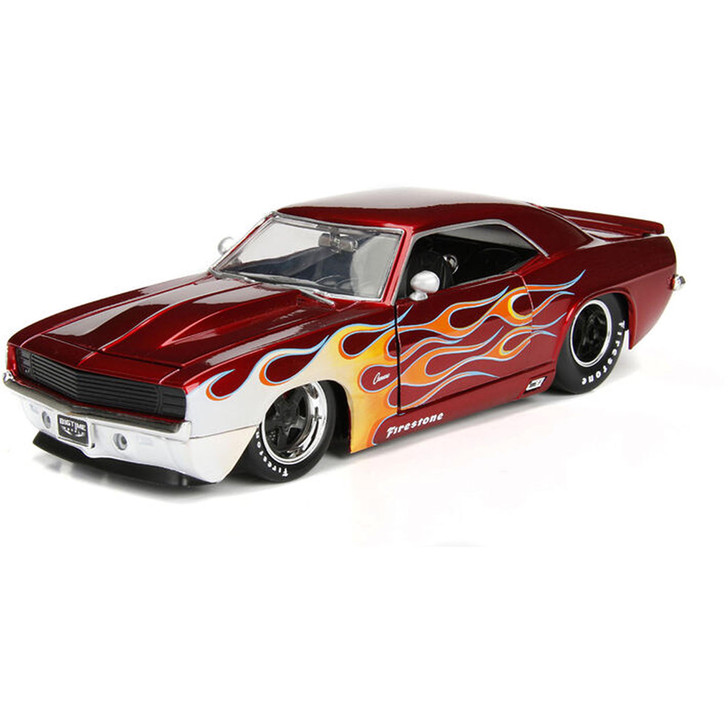 1969 CHEVROLET CAMARO Big Time Muscle RED Main Image