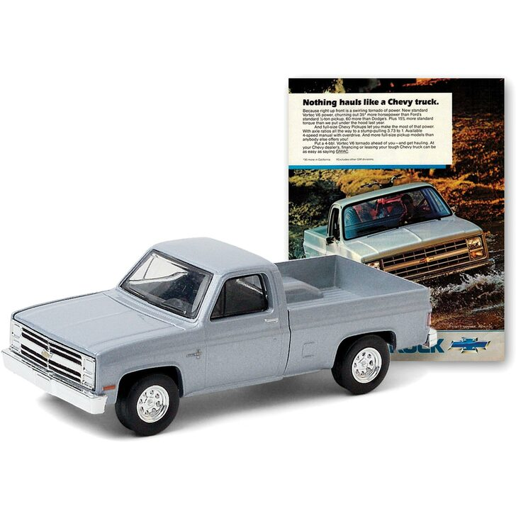1985 Chevrolet Truck Vintage Ad Truck Main Image