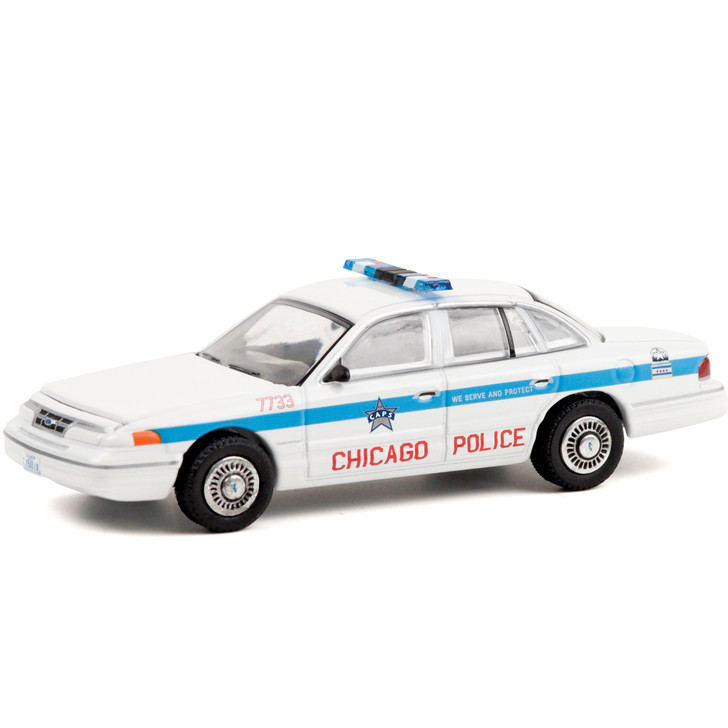 1995 Ford Crown Victoria Police Interceptor - Chicago Police Main Image