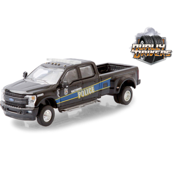 2019 Ford F-350 Dually - Baltimore, Maryland Police Department Mounted Unit Main Image