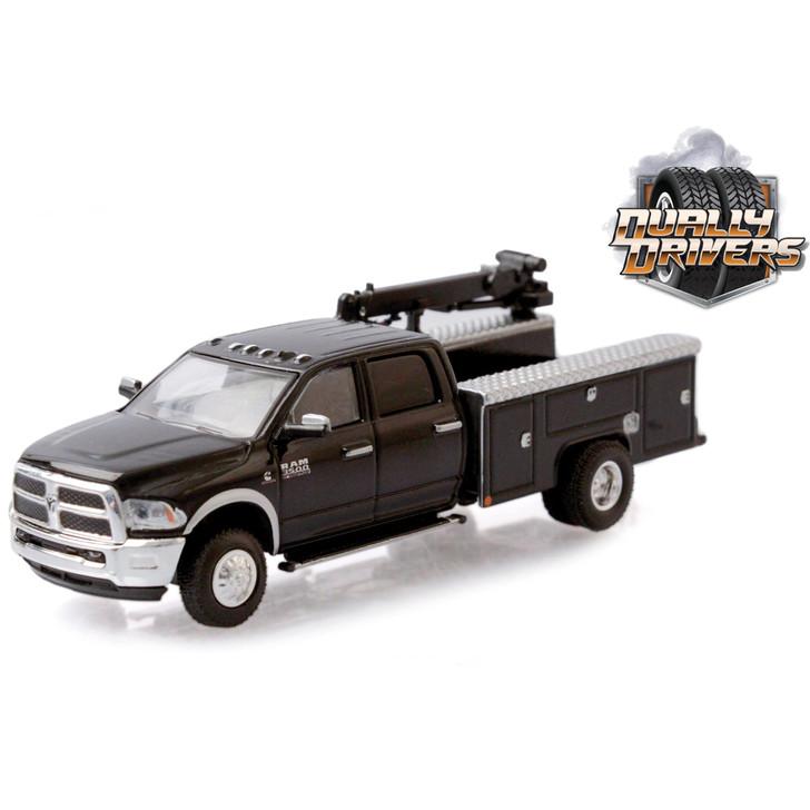 2018 Ram 3500 Dually Crane Truck - Brilliant Black Main Image