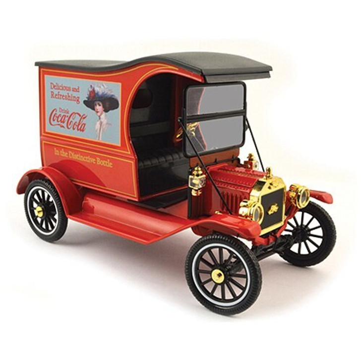 Motor City Classics 1917 Coca-Cola Drink Delicious Delivery Truck 118 Scale Diecast Model by Motor City Classics 15367NX