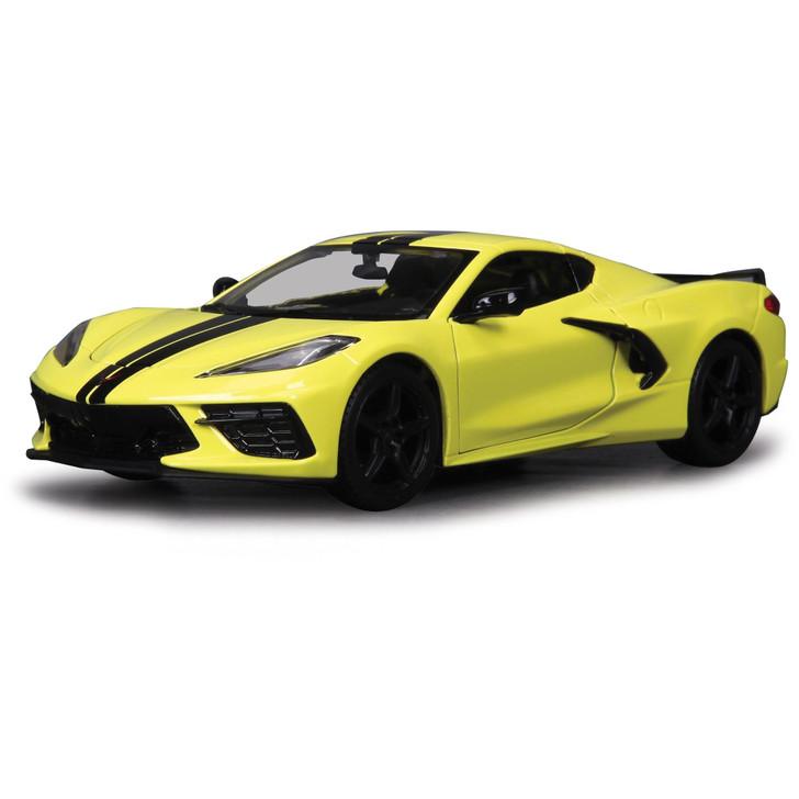 2020 C8 Corvette Stingray - Yellow Main Image