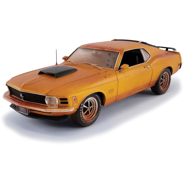 1970 Ford Bard Find Boss 429 Mustang & Car Trailer Main Image