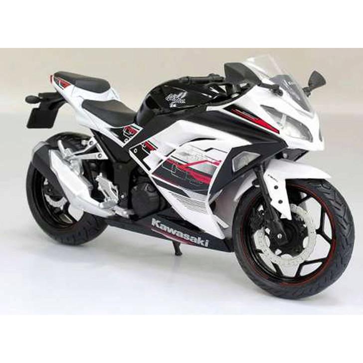 Joy City MOTO 1/12 Kawasaki Ninja 300 White & Black Main Image
