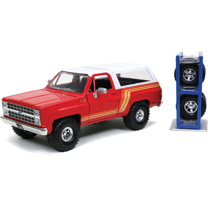 1980 Chevy Blazer & Tire Rack - Just Trucks Main Image