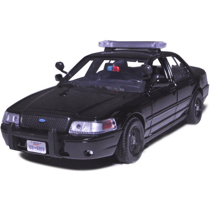 2007 Ford Crown Victoria Police Car - Unmarked Black Main Image