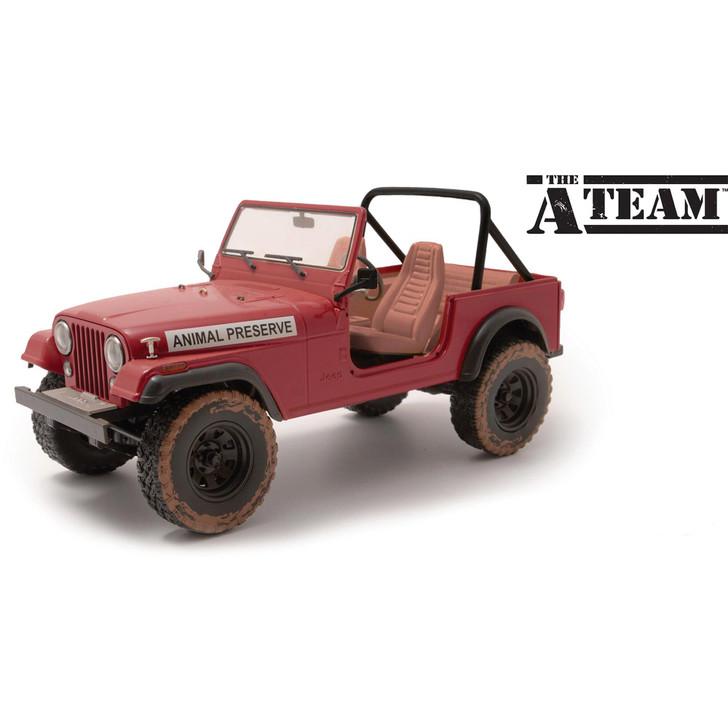 The A-Team Jeep CJ-5 - Animal Preserve Main Image