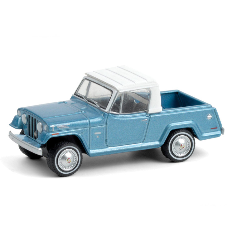 1970 Jeepster Commando Pickup - Light Blue Metallic with White Roof Main Image
