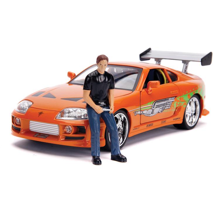 Fast & Furious Toyota Supra & Diecast Brian Figure Main Image