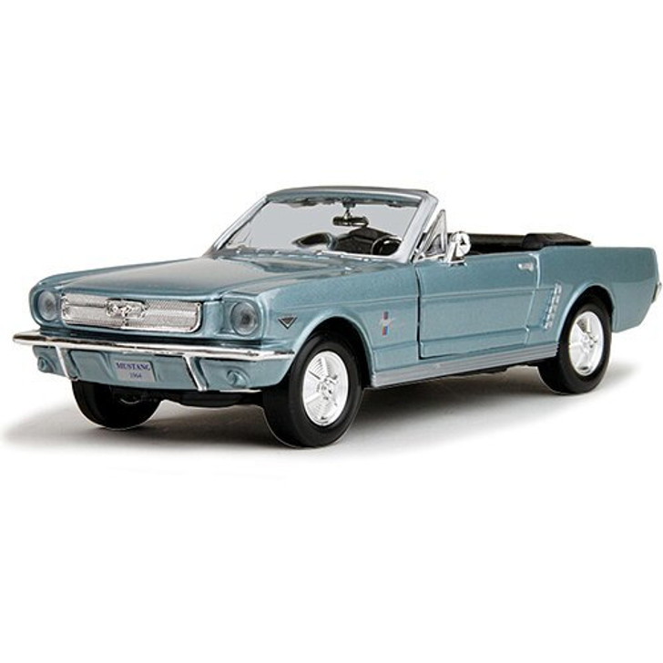 Motormax 1964 1/2 Ford Mustang Convertible 124 Scale Diecast Model by Motormax 17289NX