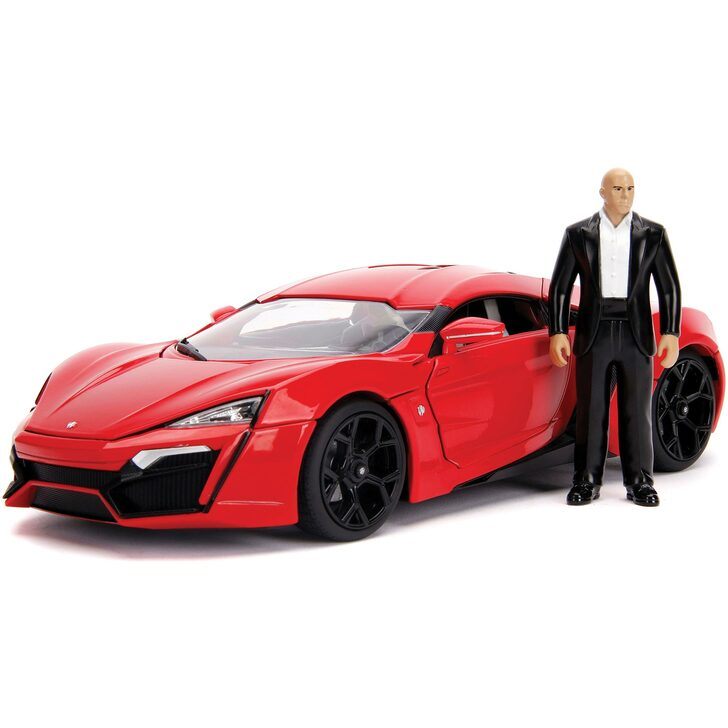 Fast & Furious Lykan HyperSport & Dom Figure Main Image