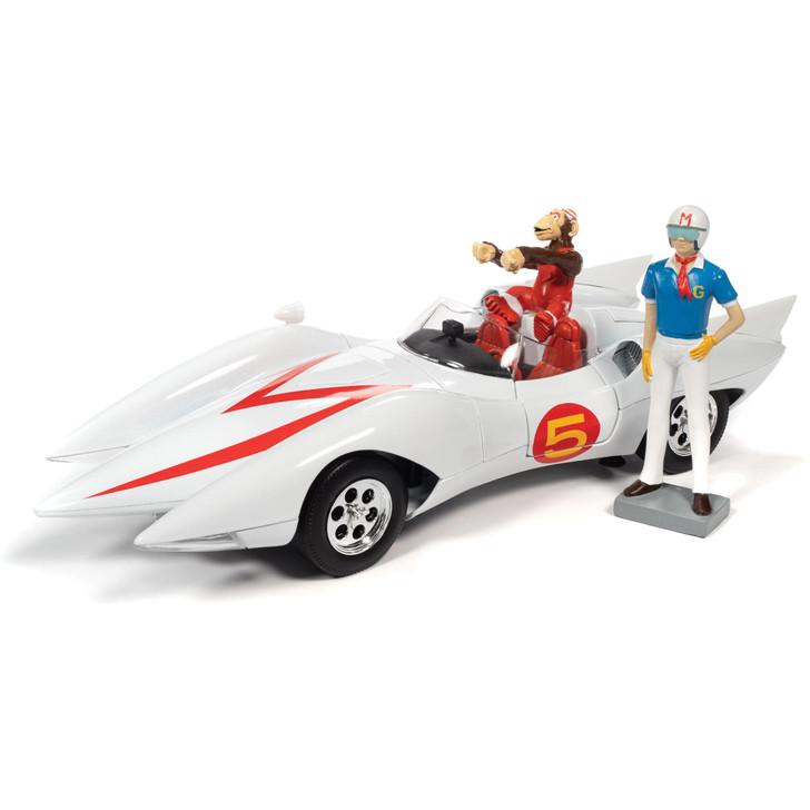 Speed Racer Mach 5 w/Chim-Chim & Speed Racer Figures Main Image