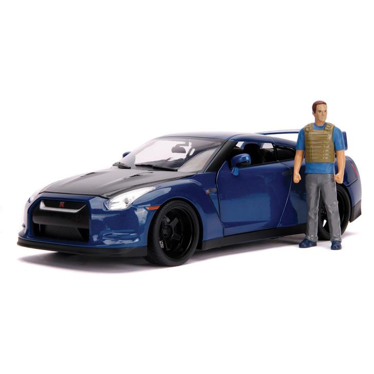 Fast & Furious Nissan GT-R (R35) & Brian Figure Main Image
