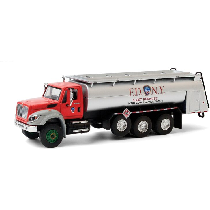 2018 International WorkStar Tanker Truck - FDNY Ultra Low Sulphur Diesel Main Image