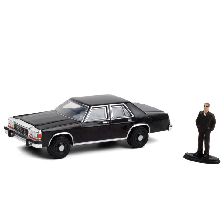 1987 Ford LTD Crown Victoria with Man in Black Suit Main Image