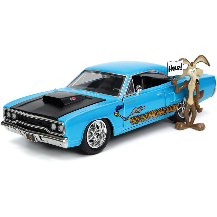 1970 Plymouth Road Runner & Wile E. Coyote Figure Main Image