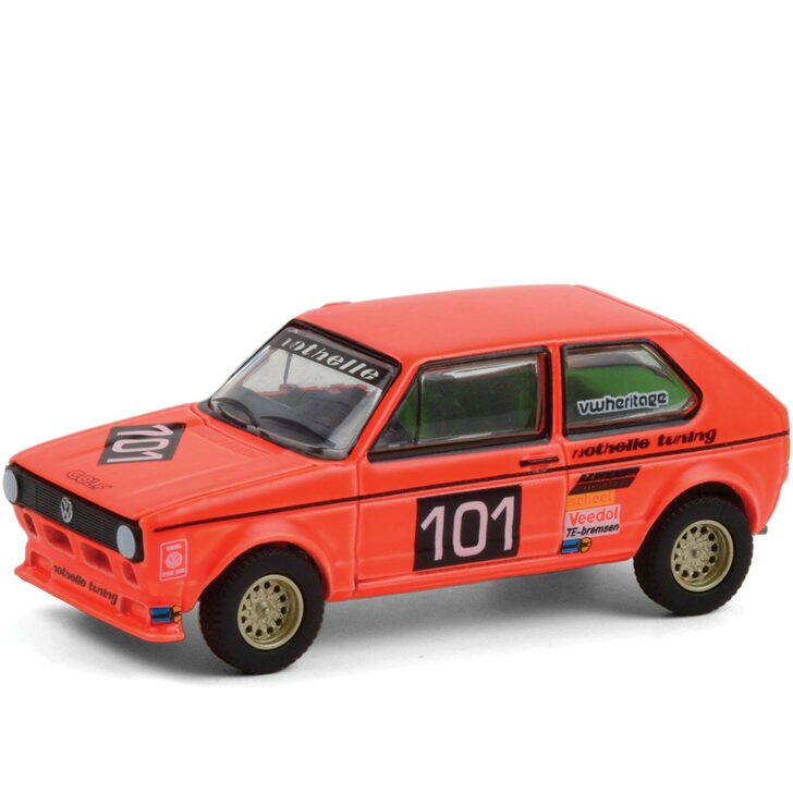 1975 Volkswagen Golf Mk1 Group 2 #101 - 1975 Hockenheimring, Germany Grand Prix Circuit First Place Winner Main Image