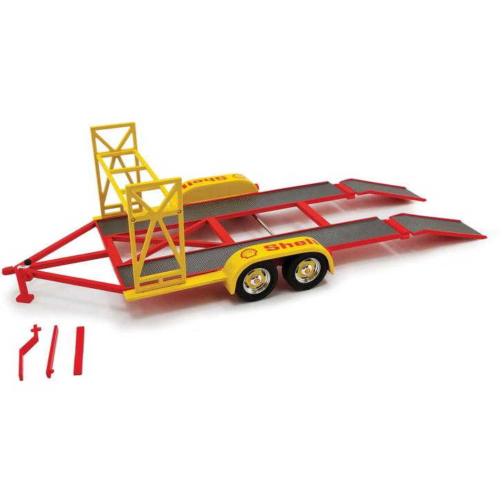 Shell Oil Tandem Car Trailer & Tire Rack Main Image