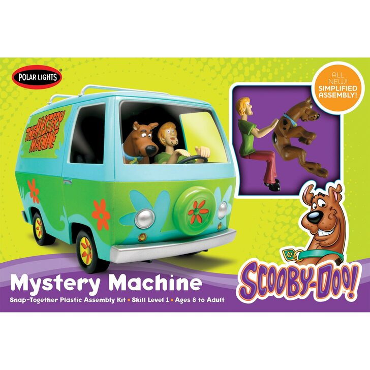 Scooby-Doo Mystery Machine Snap Model Main Image
