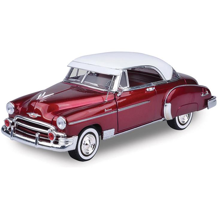 1950 Chevy Bel Air-Metallic Red w/ White Top Main Image