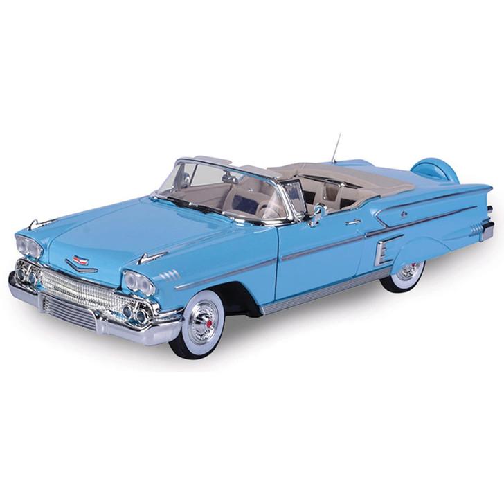 1958 Chevrolet Impala-Light Blue Main Image