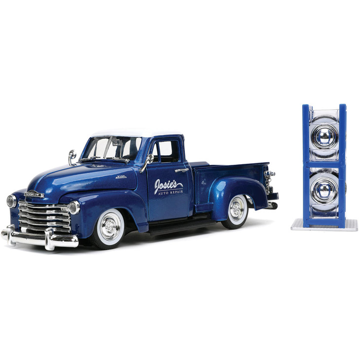 1953 Chevy Pickup with Tire Rack - Just Trucks Main Image