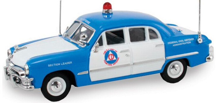 Diecast Direct 1949 Ford Civil Defense Car 143 Scale Diecast Model by Diecast Direct 13944NX