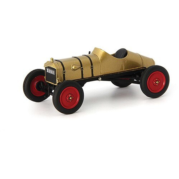 AutoCult 1911 Golden Ford Model T Racer 143 Scale Diecast Model by AutoCult 17361NX