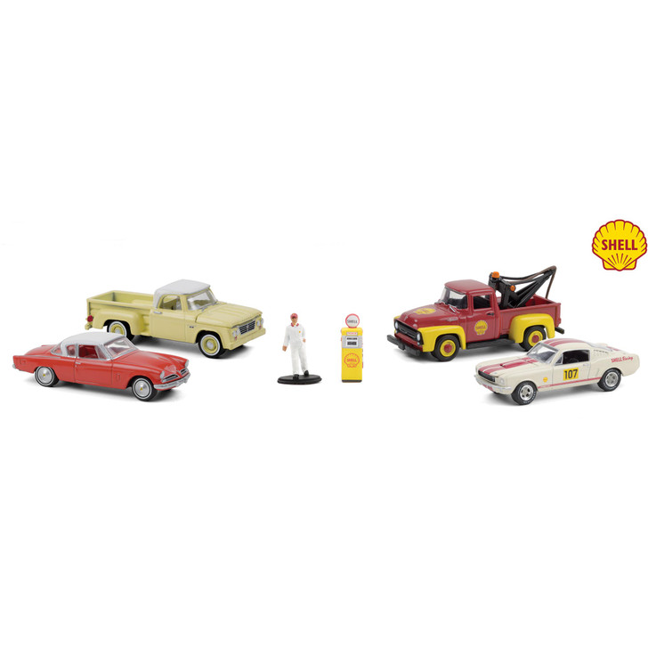 Shell Service Center Diecast Collection Main Image