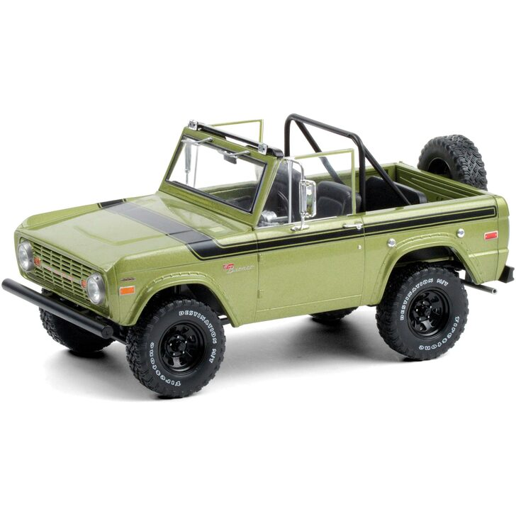 1975 Ford Bronco Sport - Medium Green Glow Main Image