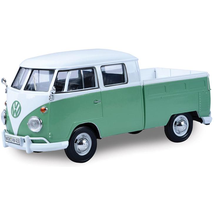 Volkswagen Type 2 ( T1 ) - Pickup-2-White / Green Main Image