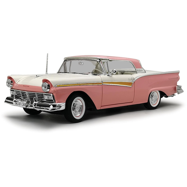 1957 Ford Fairlane 500 Skyliner-Sunset Coral / Colonial White Main Image