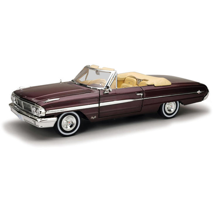 1964 Ford Galaxie 500/XL Open Convertible-Vintage Burgundy Main Image