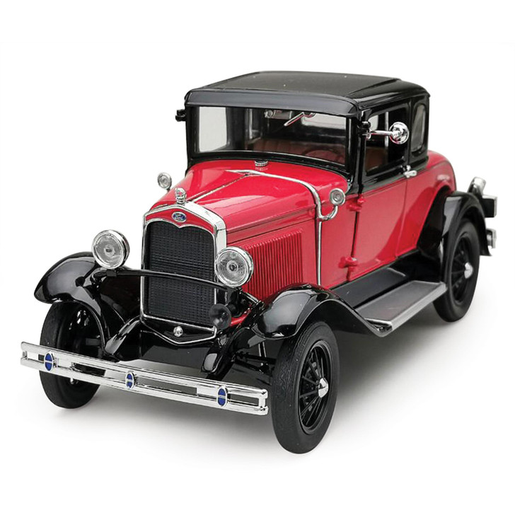 1931 Ford Model A Coupe - Aurora Red / Andalusite Blue Main Image