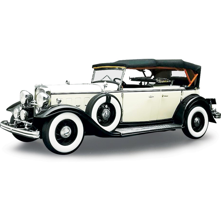 1932 Ford Lincoln KB Top Up - Black / White Main Image