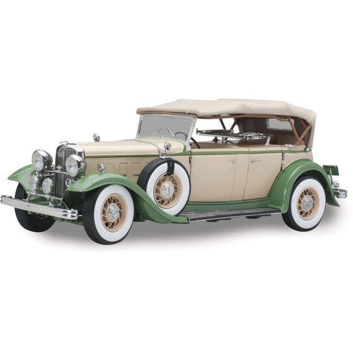 1932 Ford Lincoln KB Top Up - Light Tan / Light Green Main Image