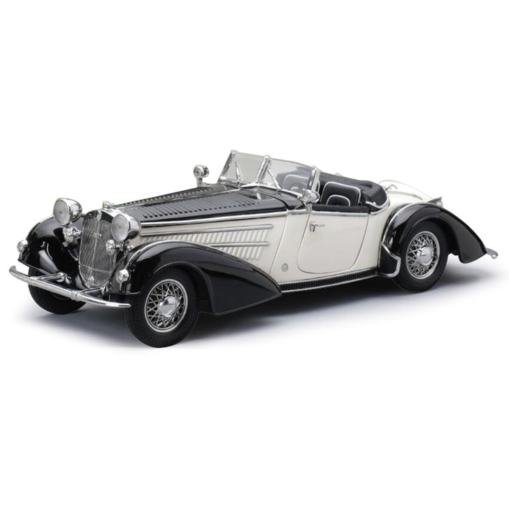 1939 HORCH 855 ROADSTER - Black / White Main Image