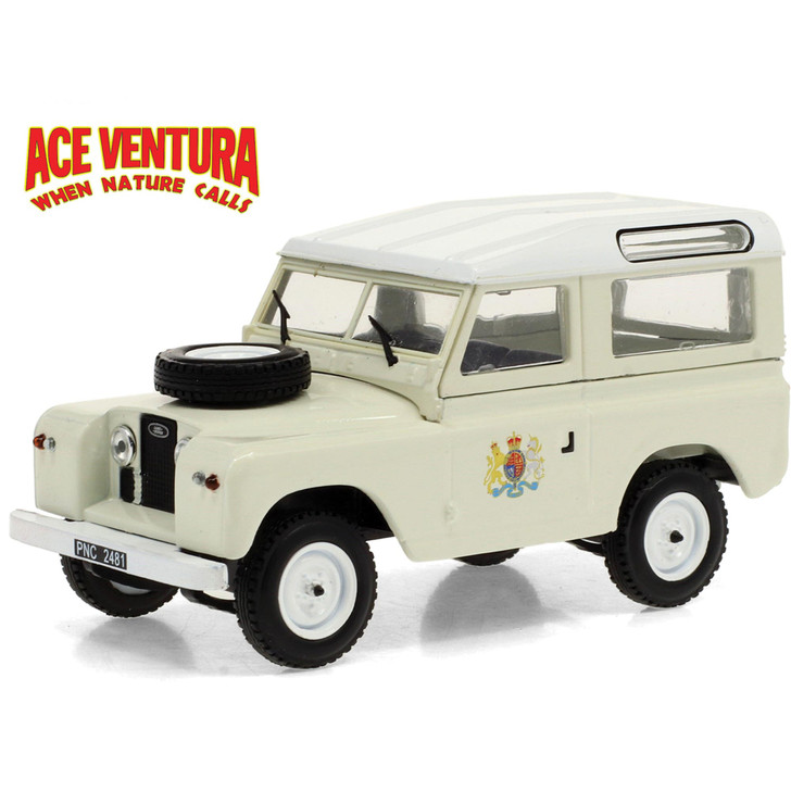 Ace Ventura 1961 Land-Rover 88 Series IIa Wagon Main Image