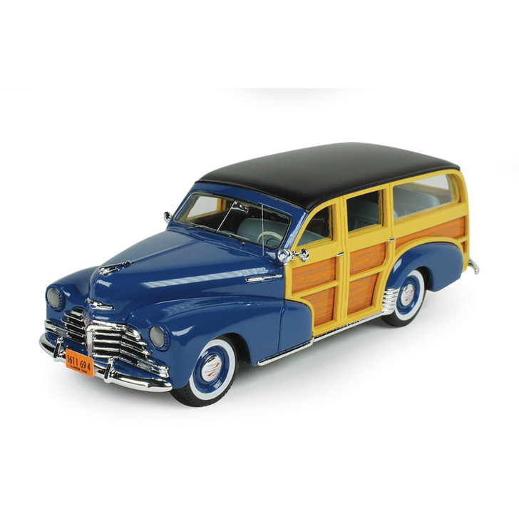 1948 Chevrolet Fleetmaster Woodie - Blue Main Image