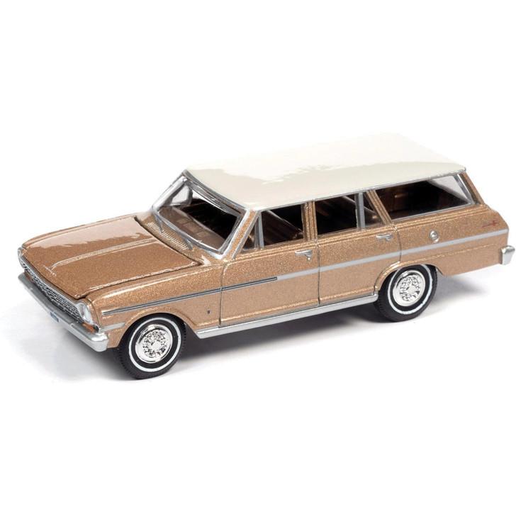 1963 Chevy II Nova 400 Station Wagon - Saddle Tan Main Image