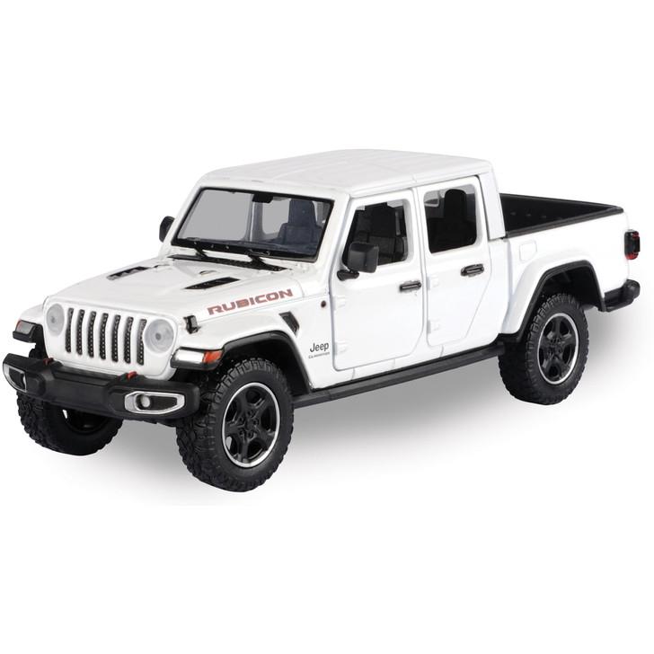 2021 Jeep Gladiator Rubicon Hardtop - White Main Image