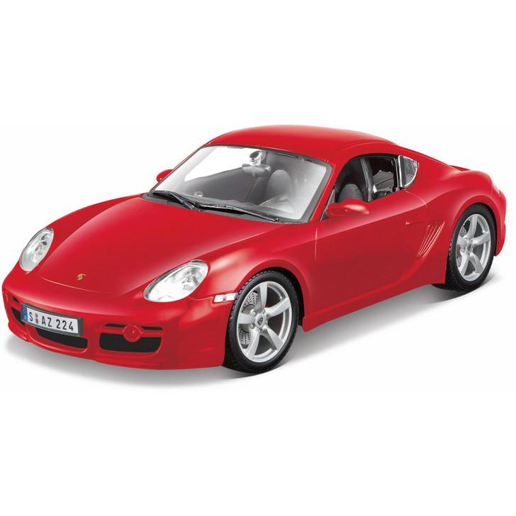 Porsche Cayman S - Red Main Image